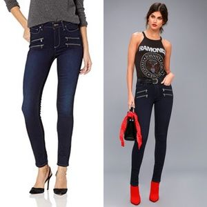 Paige Edgemont Ultra-Skinny High-Rise Jeans
